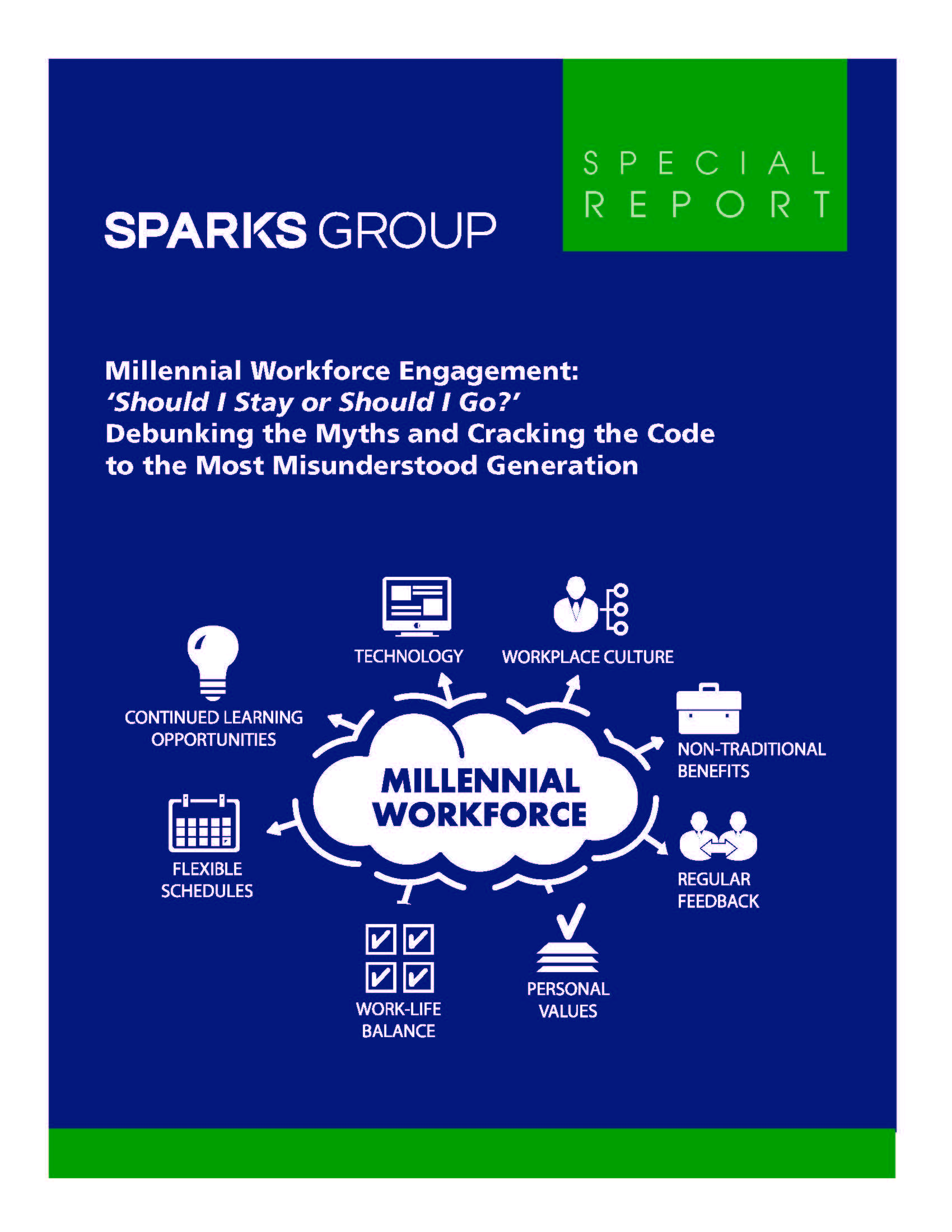 Millennial Workforce Engagement: Debunking the myths and Cracking the Code to the Most Misunderstood Generation (eBook)